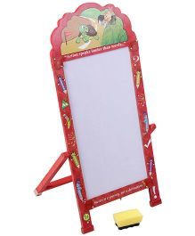 Prasima Toys Marker Board With Toy Clock