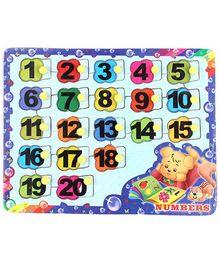 Parisma Toys Number Puzzle
