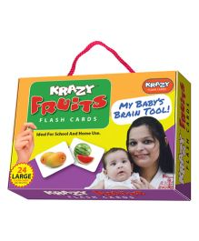 Krazy Fruits Flash Cards - My Baby Brain Tool