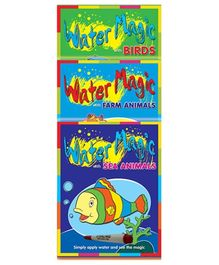 Sterling Water Magic Pack with Water Pen- Set of 3 Books