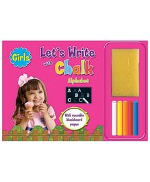 Sterling Girls Let's Write With Chalk- Alphabets