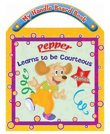 Sterling Pepper Learns to be Courteous Board Book- English