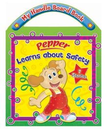 Sterling Pepper Learns about Safety Board Book- English