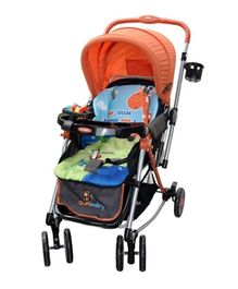 Sunbaby Jungle Theme Rocking Stroller 300 X - Orange