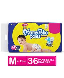 Mamy Poko Pants Standard Pant Style Diapers Medium - 36 Pieces