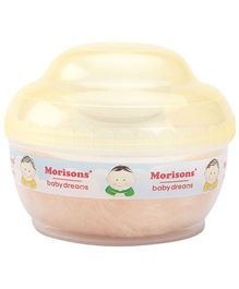 Morisons Baby Dreams Premium Touch Powder Puff - Yellow