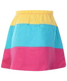 Dreamszone Skirt - Yellow Sky Blue Pink