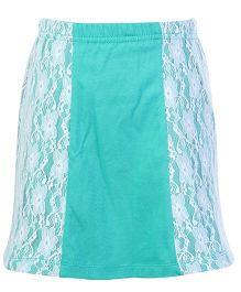 Dreamszone Skirt Lace Pattern - Green White