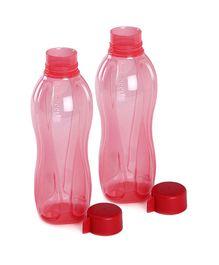 Tupperware Bottle Red 500 ML - Pack Of 2