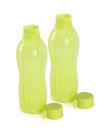 Tupperware Bottle Yellow 500 ML - Pack Of 2