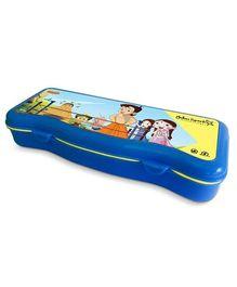Chhota Bheem Plastic Pencil Box - Blue