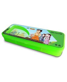 Chhota Bheem Translucent Finish Pencil Box - Green