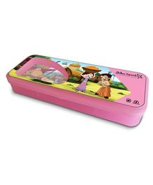 Chhota Bheem Translucent Finish Pencil Box - Pink