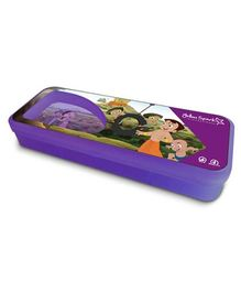 Chhota Bheem Translucent Finish Pencil Box - Purple