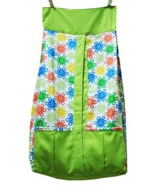 Kadambaby Diaper Stacker Floral Print - Green