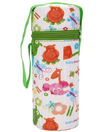 Morisons Baby Dreams Insulated Bottle Cover Green - Fits Bottle Up To 250 ml