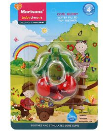 Morisons Baby Dreams Cool Buddy Toy Teether- Red