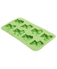 Fab N Funky Bear Shape Ice Tray- Green