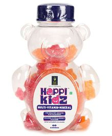 Happi Kidz Multivitamin And Mineral Gummies - 150 gram