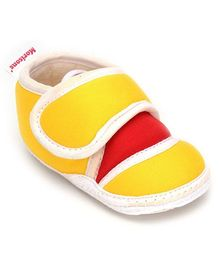 Morisons Baby Dreams Baby Booties -Yellow And Red