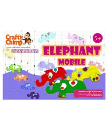 Crafty Chimps Elephant Mobile