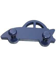 Fly Frog Car Shaped Peg Wall Hook - Blue