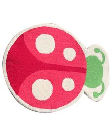 Fly Frog Lady Bug Shaped Mat