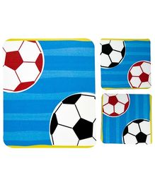 Fly Frog Football Printed Mouse Pad And Coasters