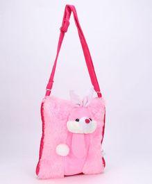 IR Soft Fur Shoulder Bag - Bunny Applique