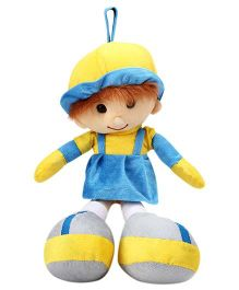 IR Soft Doll With Loop - Blue
