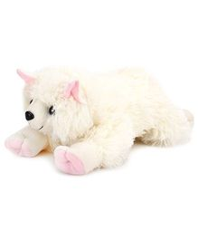 IR Cat Soft Toy With Cute Pow 30 cm (Color May Vary)