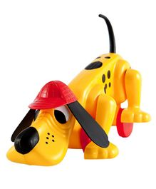 Giggles Digger The Dog - Yellow