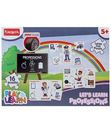 Funskool Play And Learn Puzzle - 16 Pieces