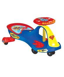 Toyzone Musical Magic Twister Car Superman