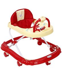 Musical Baby Walker - Red