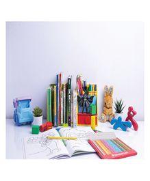 Kidoz Farmland Desk Set Cum Bookend - Multi Colour