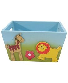 Kidoz Animal Design Utility Container - Light Blue