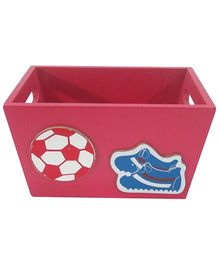 Kidoz Sports Design Utility Container - Red