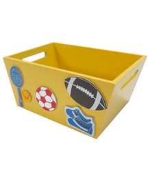 Kidoz Sports Utility Container - Yellow