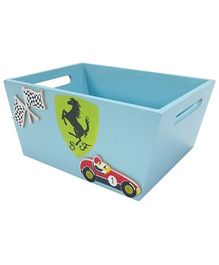 Kidoz Racer Car Utility Container - Light Blue