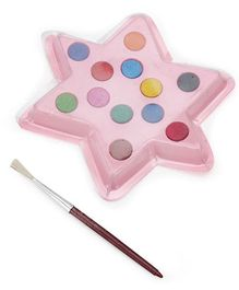 Mr. Clean Gems Water Crayons Pack with Star Shape Palette- 12 Shades
