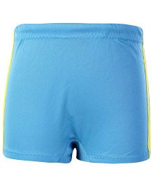 Veloz Swimming Trunks With Stripes Panel - Blue