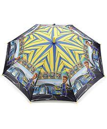 Fab N Funky Kids Umbrella Multi Color - Racer Car Print