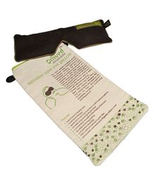 Omved Breathe Ease Eye Pillow - Brown
