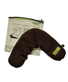 Omved Soothing Neck Hot & Cold Compress - Brown