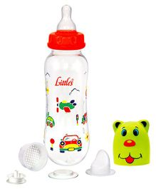 Little's Streamline Maxi Feeding Bottle 240 ml (Color May Vary)