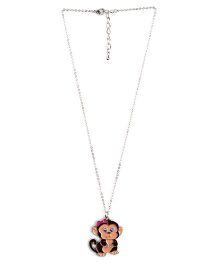 Creation Wildrepublic  Necklace And Pendant Monkey - Black