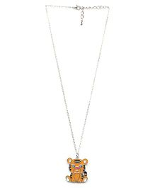 Creation Wildrepublic  Necklace And Pendant Tiger - Yellow