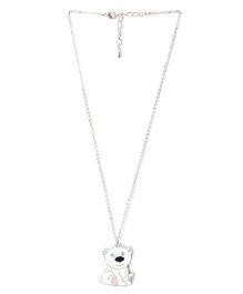 Creation Wildrepublic  Necklace And Pendant Dog - White
