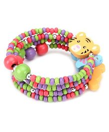 Creation Wildrepublic Bracelet Tiger Applique - Multi Color